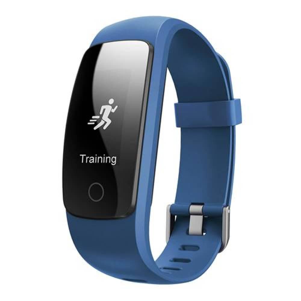 Фитнес гривна Smart Bracelet ID107 Plus HR, Heart Rate monitor,Multi-sport, Фитнес монитор, Крачки, Калории, Синя