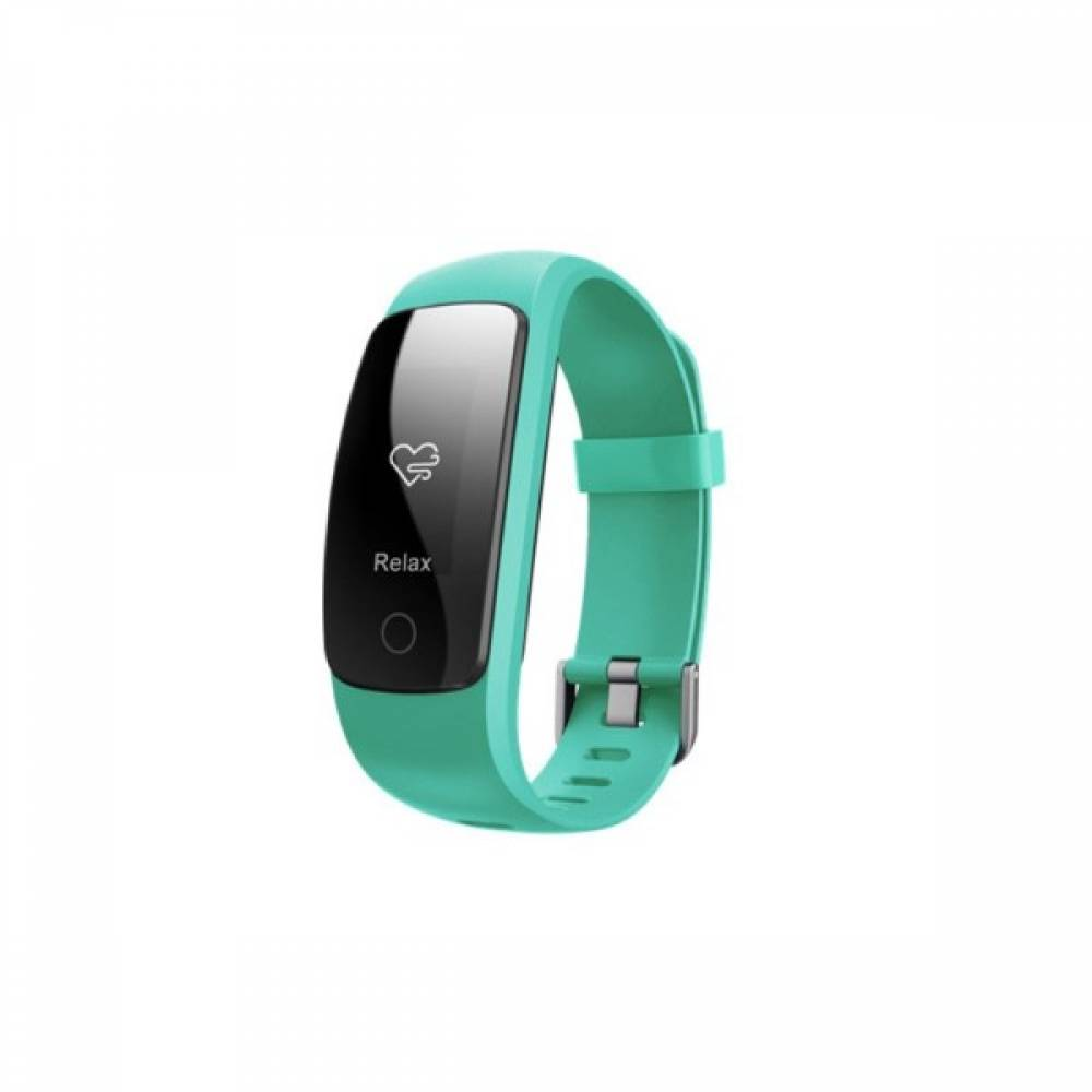 Фитнес гривна Smart Bracelet ID107 Plus HR, Heart Rate monitor,Multi-sport, Фитнес монитор, Крачки, Калории, Зелена