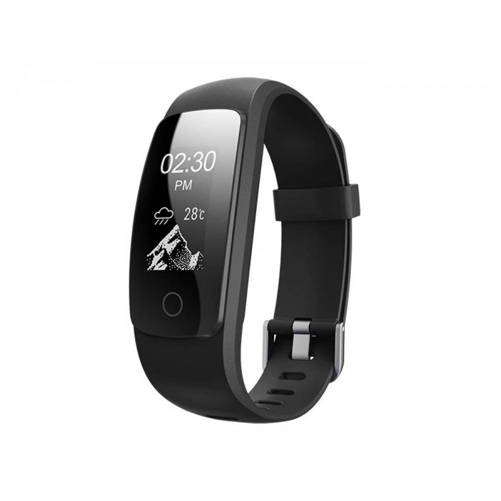 Фитнес гривна Smart Bracelet ID107 Plus HR, Heart Rate monitor,Multi-sport, Фитнес монитор, Крачки, Калории, Черна