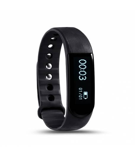 Фитнес гривна Smart Bracelet ID101, Heart Rate monitor,Черна