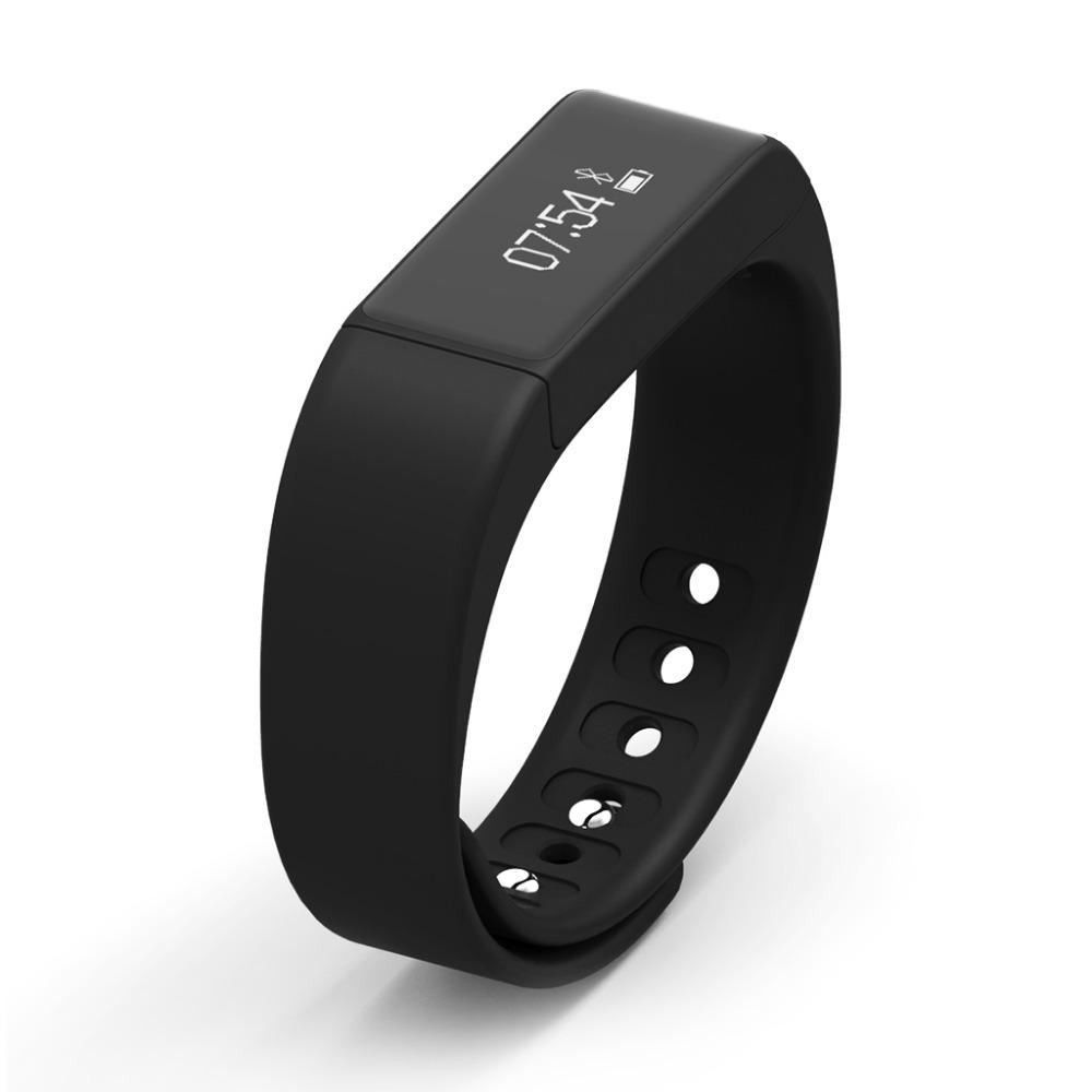 Фитнес гривна Smart Bracelet I5 Plus, Черна