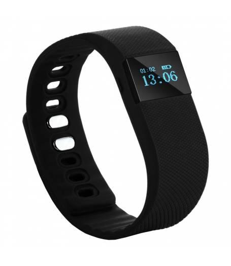 Фитнес гривна Smart Bracelet TW64, Черна