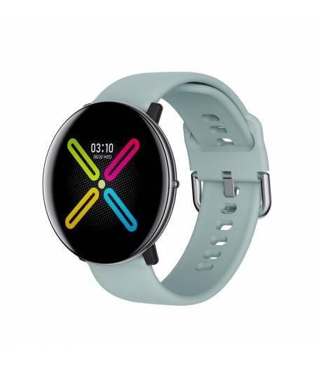 Смарт Часовник KA Digital® DM118, Пулс,Кръвно налягане, Kрачки, Разстояние,Мултиспорт, Bluetooth, Светло Син