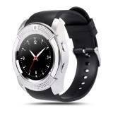 Смарт часовник Smartwatch KA Sport V8 Plus, Слот за SIM карта, Bluetooth, Камера, Сребрист