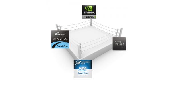 A31, ATM7029, Tegra3, Exynos4412 битката на 4ядрените процесори при таблетите